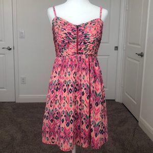 ⚡️ Roxy Patterned Zip Dress ⚡️
